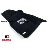 Текстильные 5D коврики с высоким бортом Euromat3D в салон для SKODA Octavia A7 (2013-) № EM5D-004507