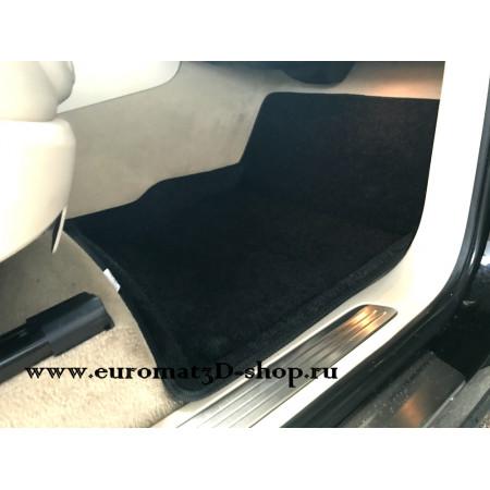 Текстильные 3D коврики Euromat в салон для VOLKSWAGEN Touareg (2010-) № EM3D-004101
